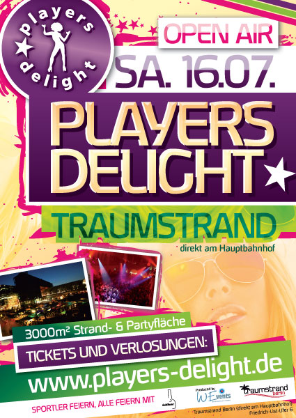 Players Delight 16.07.2011 Traumstrand Berlin