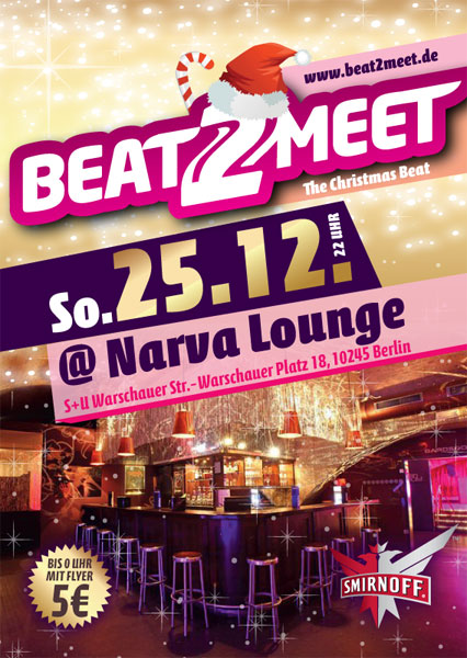 Beat2Meet 25.12.2011 Narva Lounge Berlin