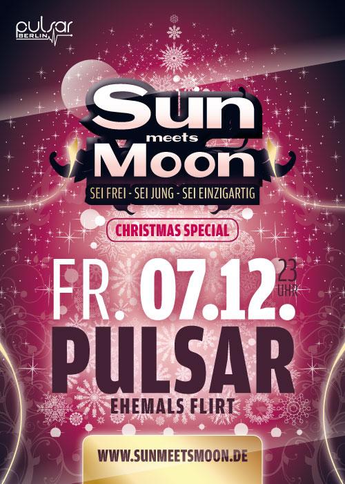 Sun meets Moon 07. Dezember 2012 A6 Handzettel