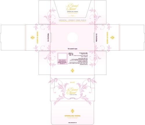 Verpackungsdesign Entwurf