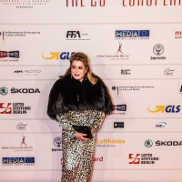 Catherine Deneuve Red Carpet 2013 EFA