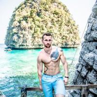 Fotograf Bens Fitness Castle Thailand Shooting am Wasser
