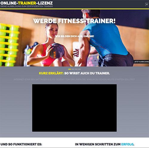 Trainerschein Fitness-Trainer B-Lizenz Online Ausbildung