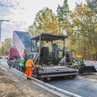 Strassenbau Volvo Asphalt-Maschine