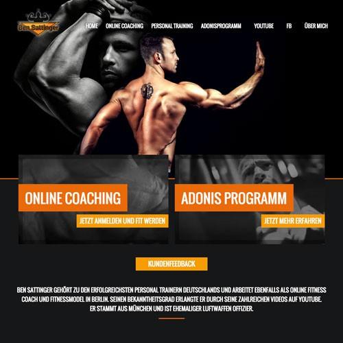 Fitness-Coach Personal-Training-muskelaufbauplan Trainingsplan Ernährungsplan Online