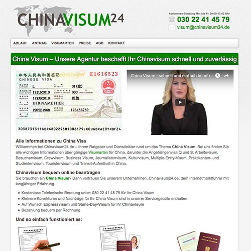 China Visum