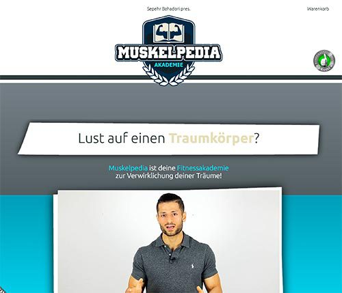 Muskelpedia WebDesign